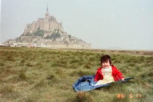 フランス時代の写真